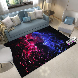 Anime Rug Re Zero Rem & Ram Carpet