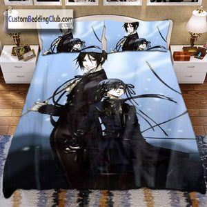 Black Butler Blanket, Duvet Covers, Bed Sheets | 100 Designs