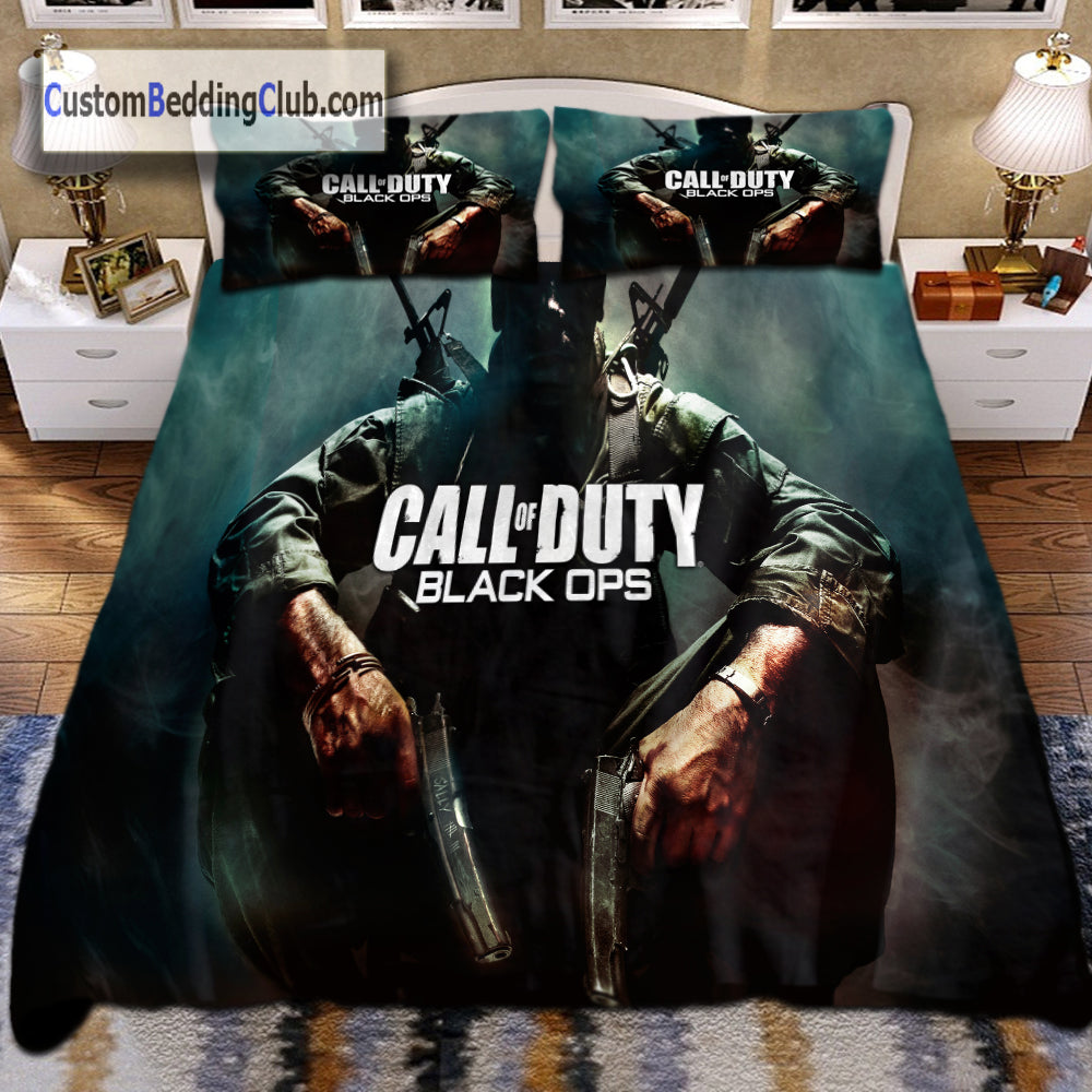 Call Of Duty Bedding Set Blanket Pillows Amp Covers Black Ops Custom Bedding Club