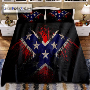 Confederate Flag Bedding, Bed Sheets, Blanket & Cover