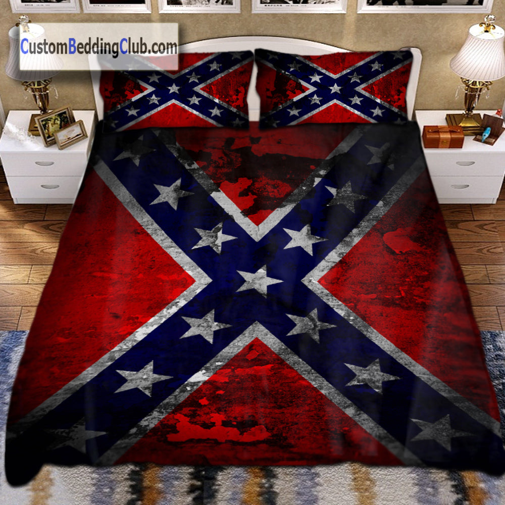Confederate Flag Bedding Set Bed Sheets Amp Covers Flag