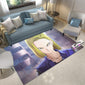 Dragon Ball Carpet. Android 18 Rug