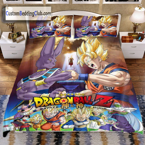 Dragon Ball Z Bed Set  Sheets   Blanket. Anime Bed Set   Blankets  Sheets   Pillow Covers   Custom Bedding Club