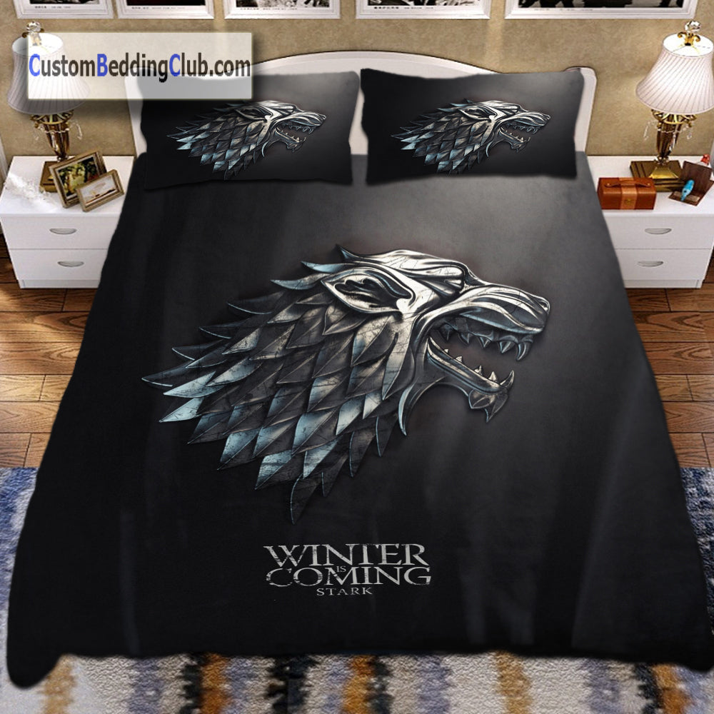 Game Of Thrones Bed Set Blanket Amp Duvet Cover Winter Is