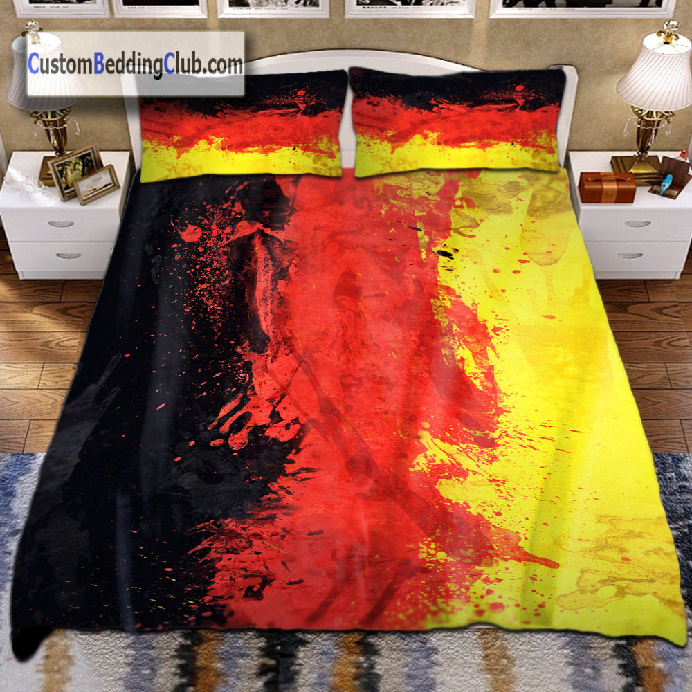 Germany Flag Bed Set, Sheets