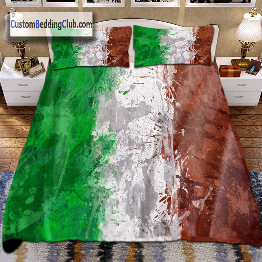 Italian Flag Bedding Set Bed Sheets Amp Covers Flag Bed