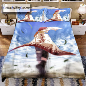 Naruto Bed Set & Blanket, Naruto Hokage Cape