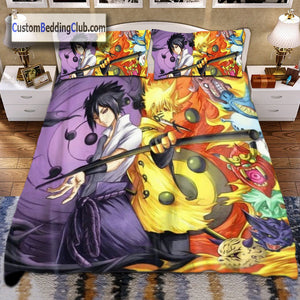Naruto Bed Set, Duvet Cover, Pillow Case