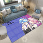 Re Zero Rug, Rem & Ram Carpet with Logo