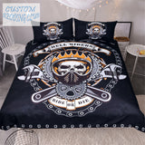 Skull Bedding Set Ride or Die!