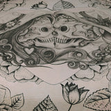 Skull Bedding Set, Sugar Skull Couple Love