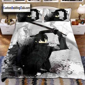 Sword Art Online Bed Set with Kirito all in Black