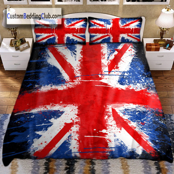 Etonnant UK Flag Bedding, Blanket, Bed Sheets U0026 Pillows | Flag Bed Set U2013 Custom  Bedding Club