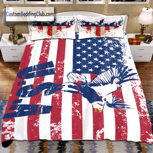 US Flag Bedding Set, Bed Sheets, Covers & Pillows