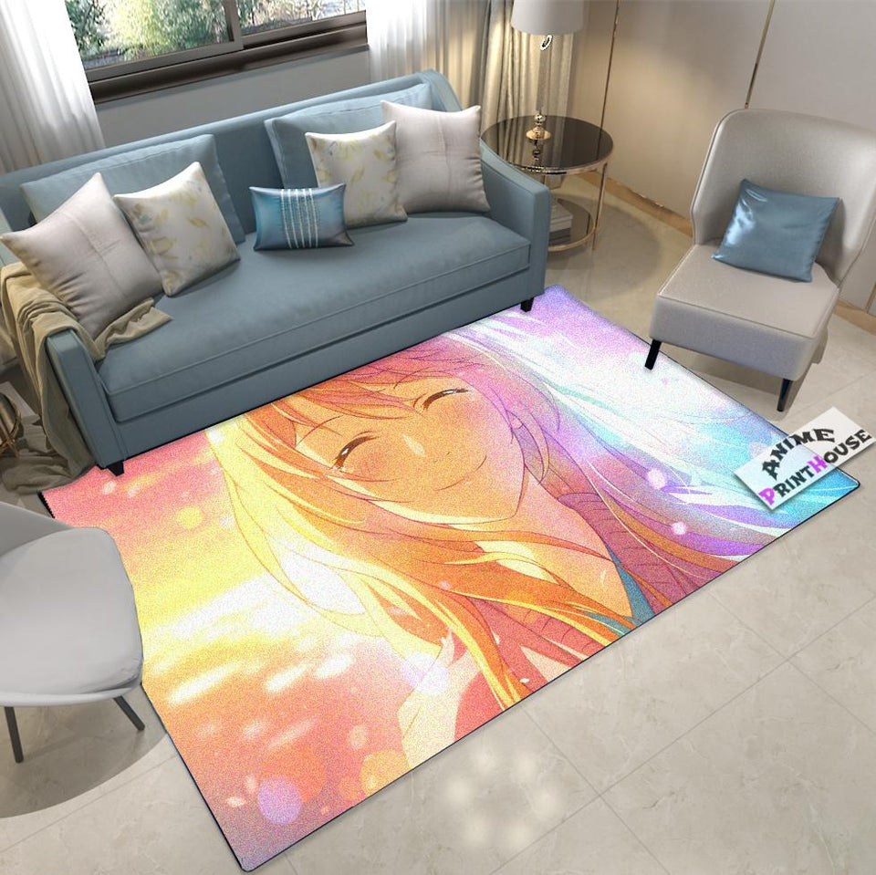 Your Lie in April Rug Kaori Design, Anime Rug