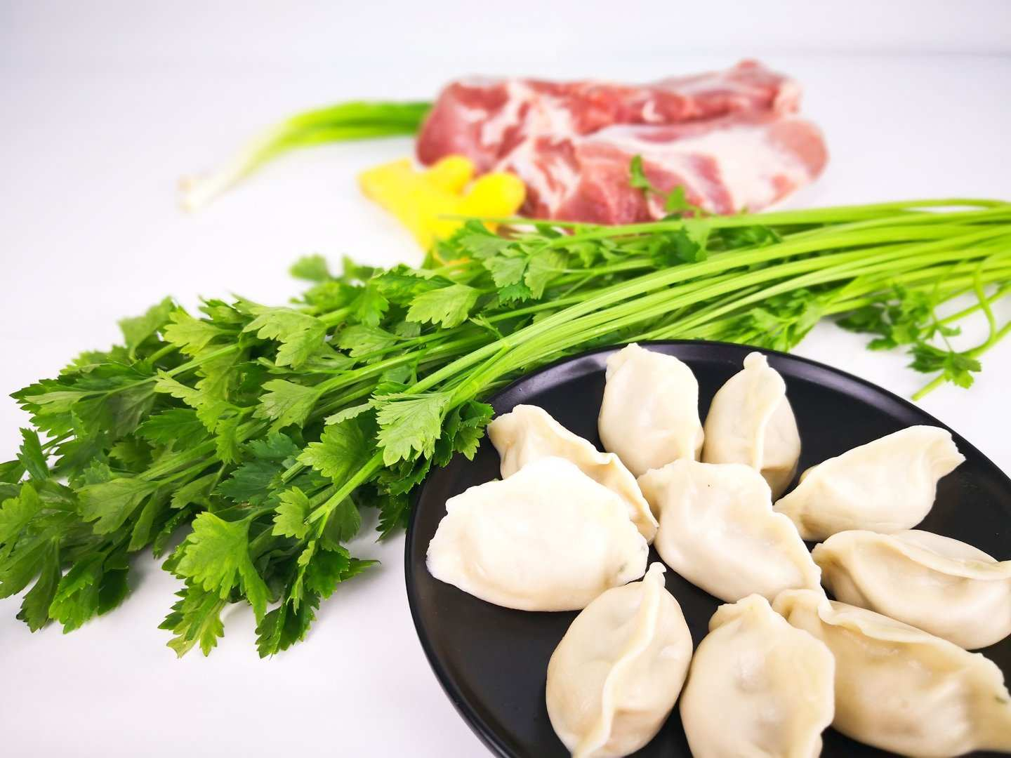 Celery and Pork Dumpling (2 Packets)