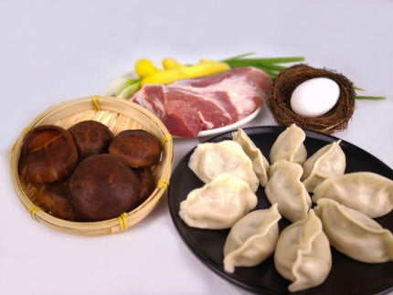 Mushroom and Pork Dumpling (2 Packets)