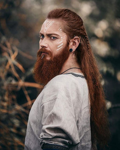 Maquillage Viking Homme 10