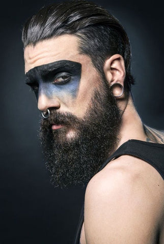 Maquillage Viking Homme 1