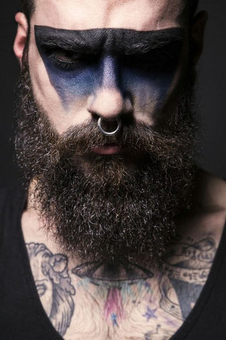 Maquillage Viking Homme 4