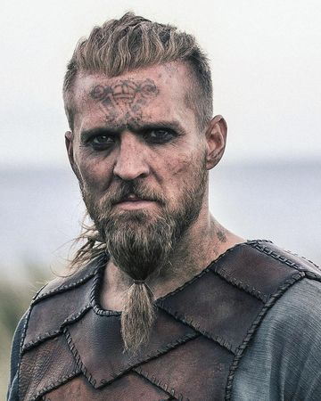 Maquillage Viking Homme 5