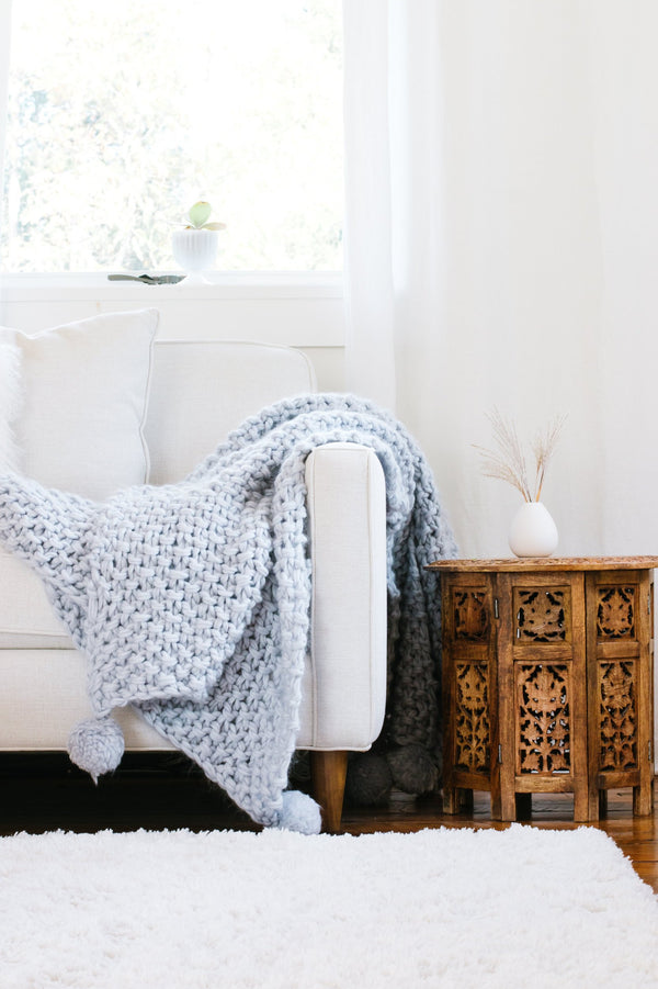 Veronica Chunky Knit Blanket Kit