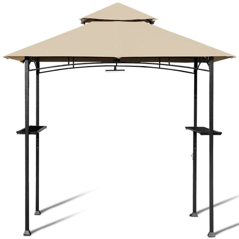 Costway Canopy Tent 8' x 5' Outdoor Patio Barbecue Grill Gazebo by Costway 7461759232310 60275918 8' x 5' Outdoor Patio Barbecue Grill Gazebo by Costway SKU# 60275918