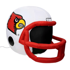 Gemmy Inflatables Special Event Inflatables 4' NCAA Louisville Cardinals Helmet by Gemmy Inflatable CINFLHLOU-31661 4' NCAA Louisville Cardinals Helmet Gemmy Inflatable CINFLHLOU-31661