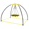 Image of Jump King Trampoline UFO Backyard Swing Round Seat Version 2 By Jump King