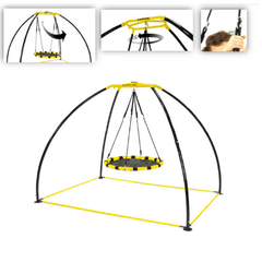 UFO Backyard Swing Round Seat Version 2 By Jump King