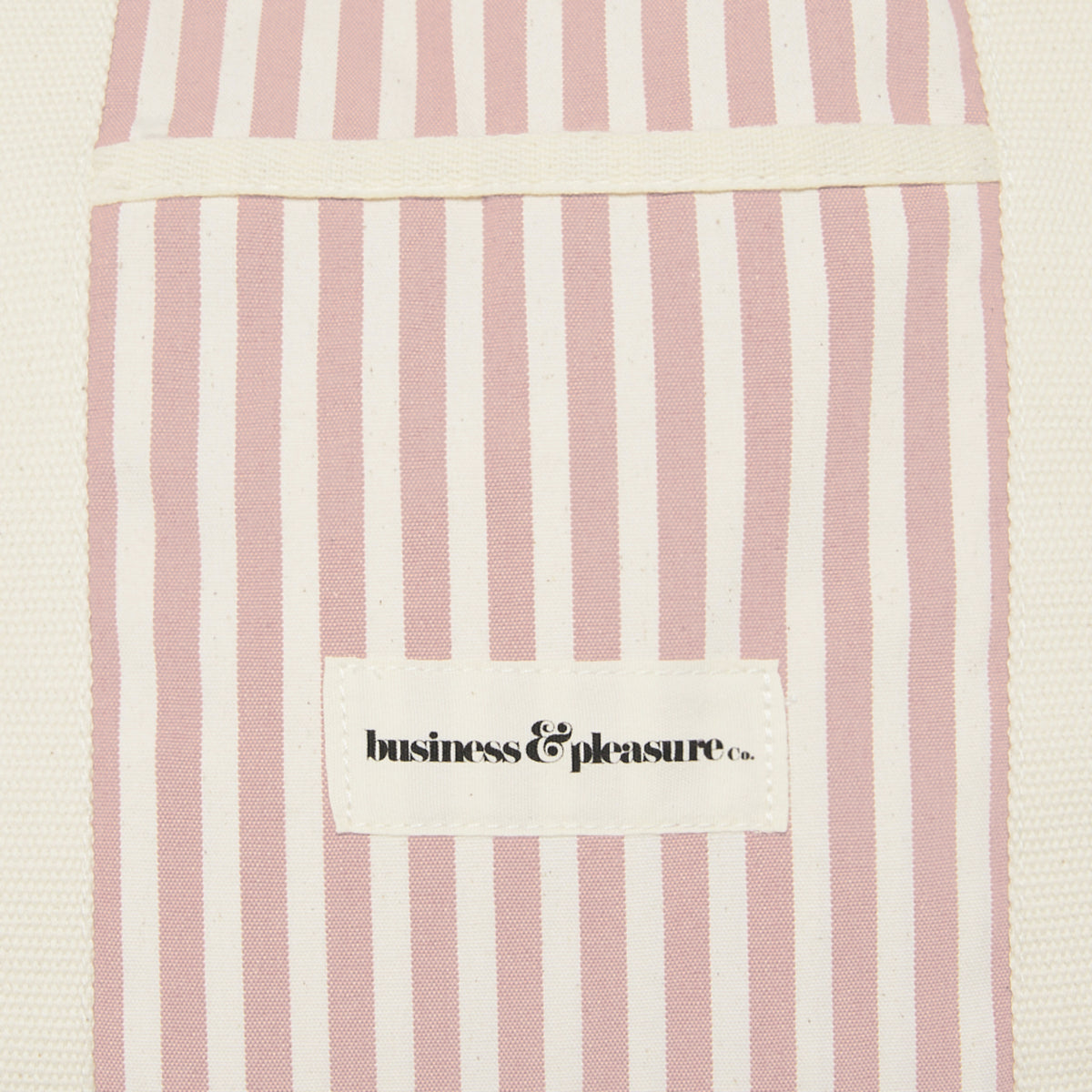 The Beach Bag - Lauren's Pink Stripe