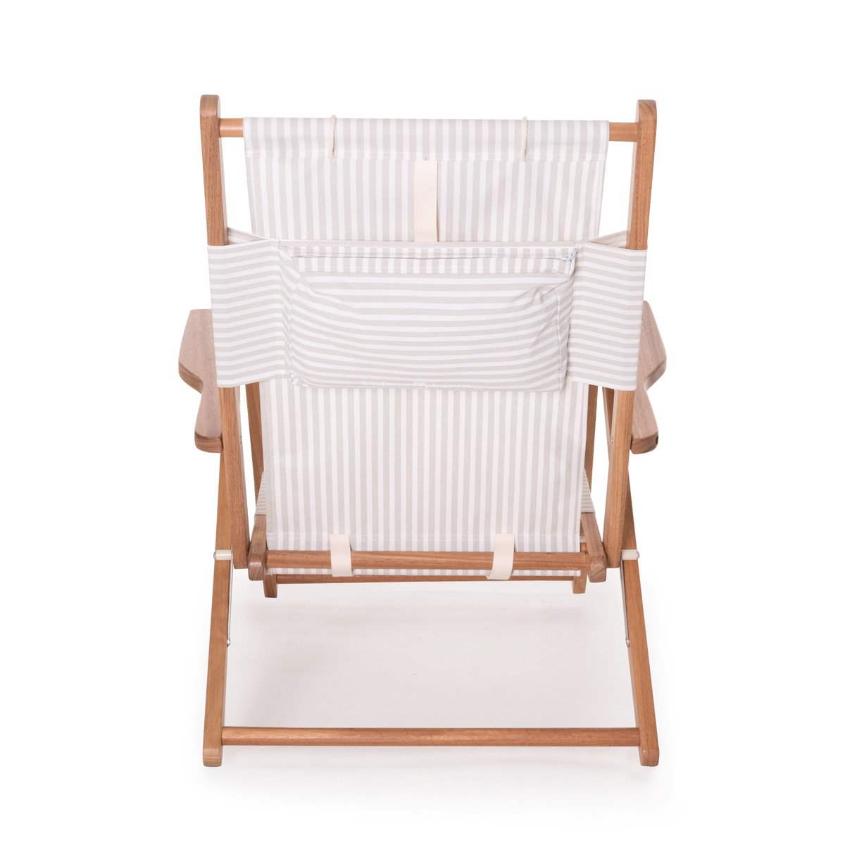 The Tommy Chair - Lauren's Sage Stripe - Business & Pleasure Co