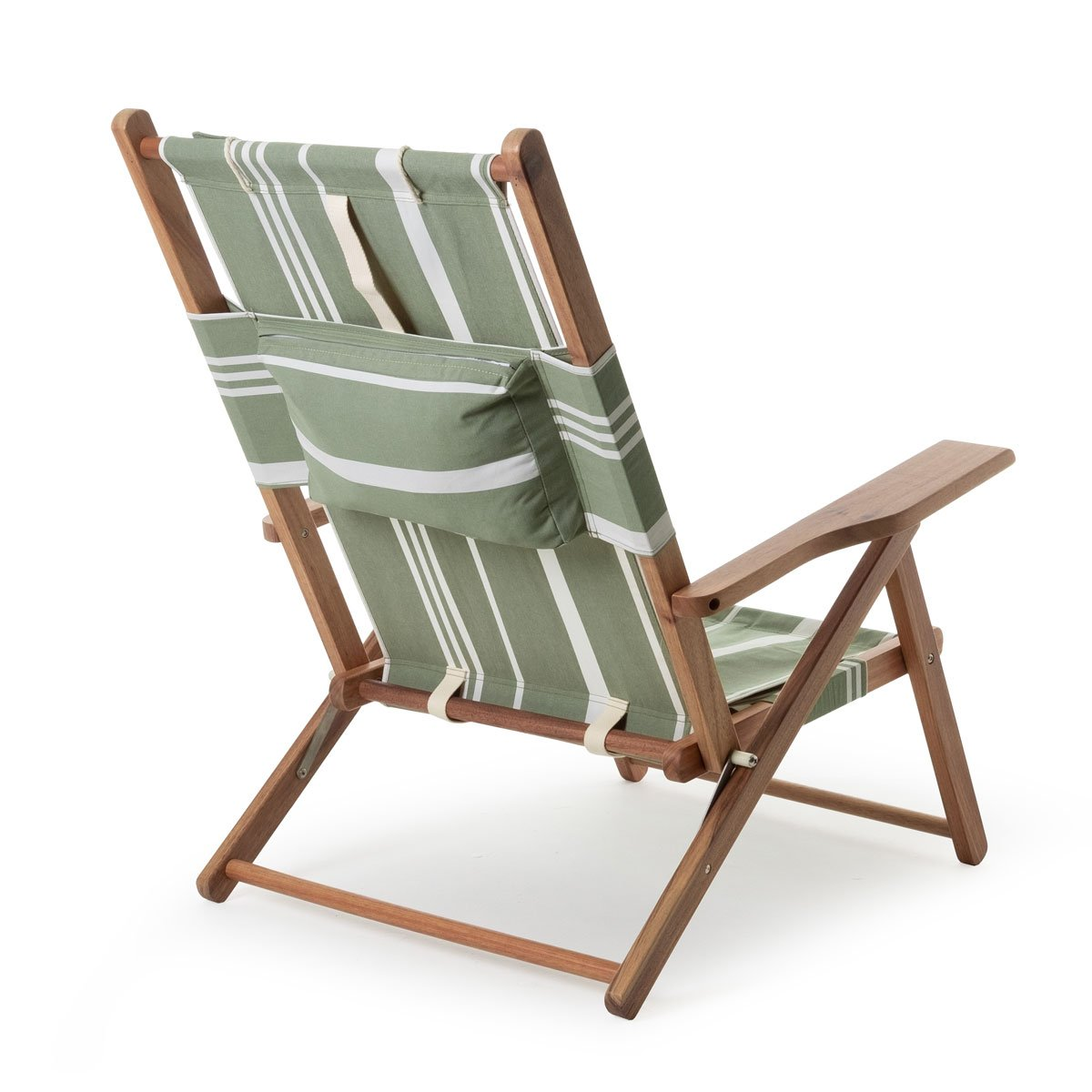 The Tommy Chair - Vintage Green Stripe - Business & Pleasure Co