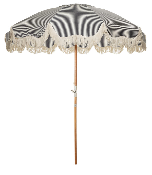 The Patio Umbrella - Lauren's Navy Stripe