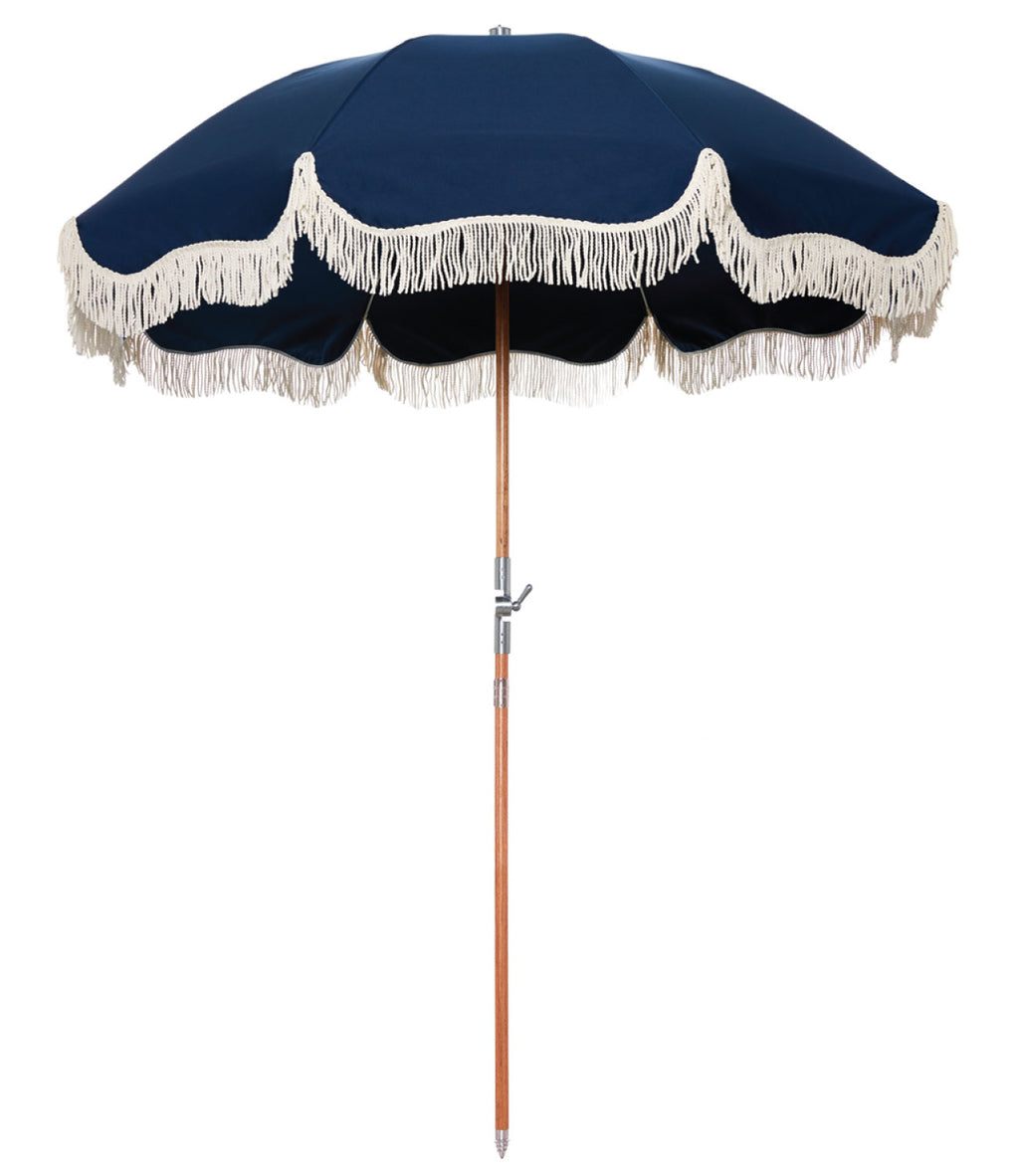 The Premium Beach Umbrella - Boathouse Navy