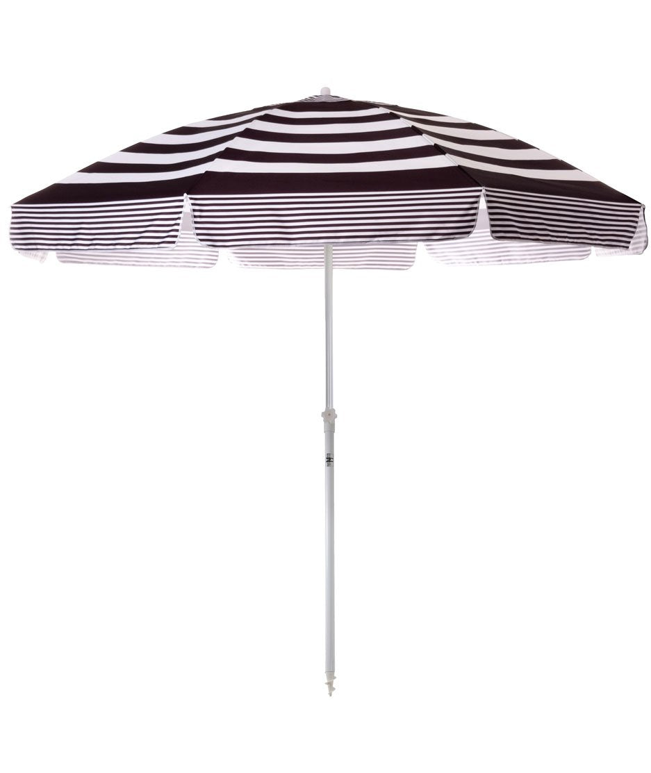 The XL Family Beach Umbrella - Black Stripe - Business & Pleasure Co