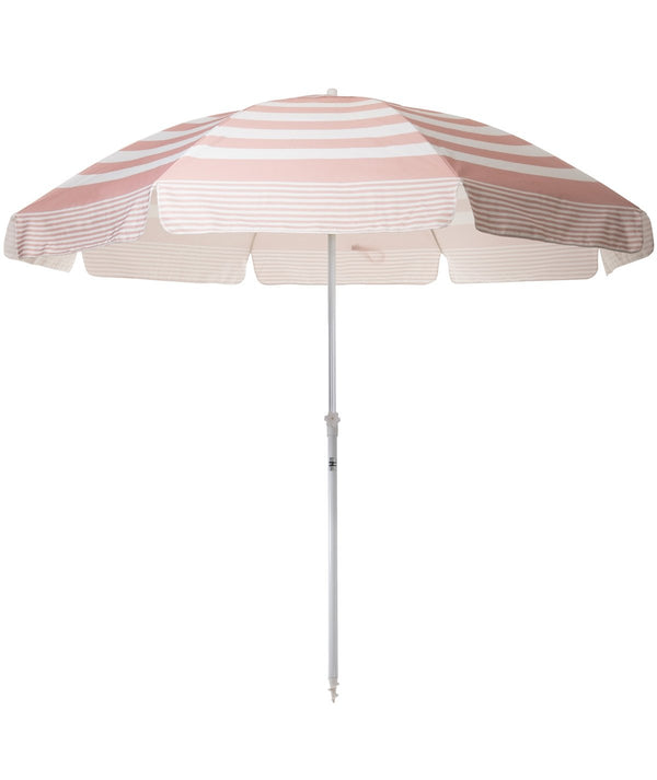 The XL Family Beach Umbrella - Pink Stripe