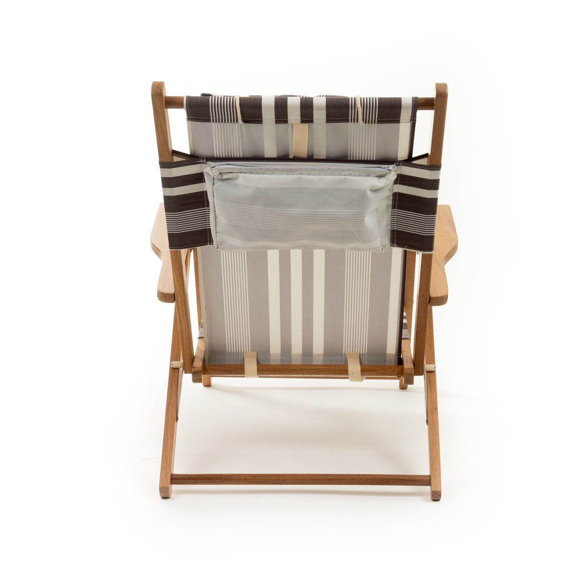 The Tommy Chair - Black Riviera Stripe - Business & Pleasure Co
