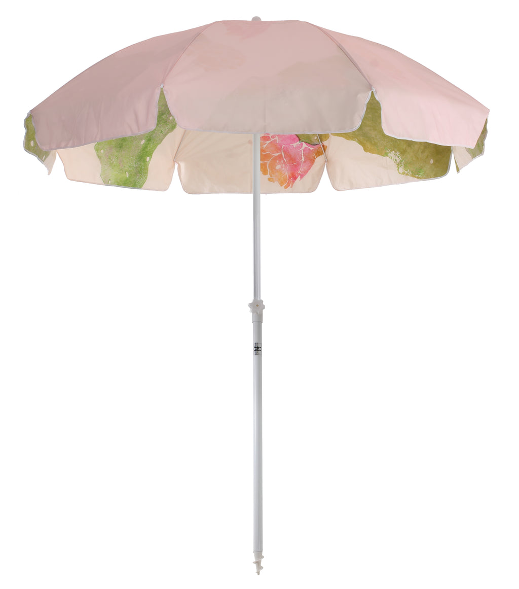 Family Beach Umbrella - Pink Cactus