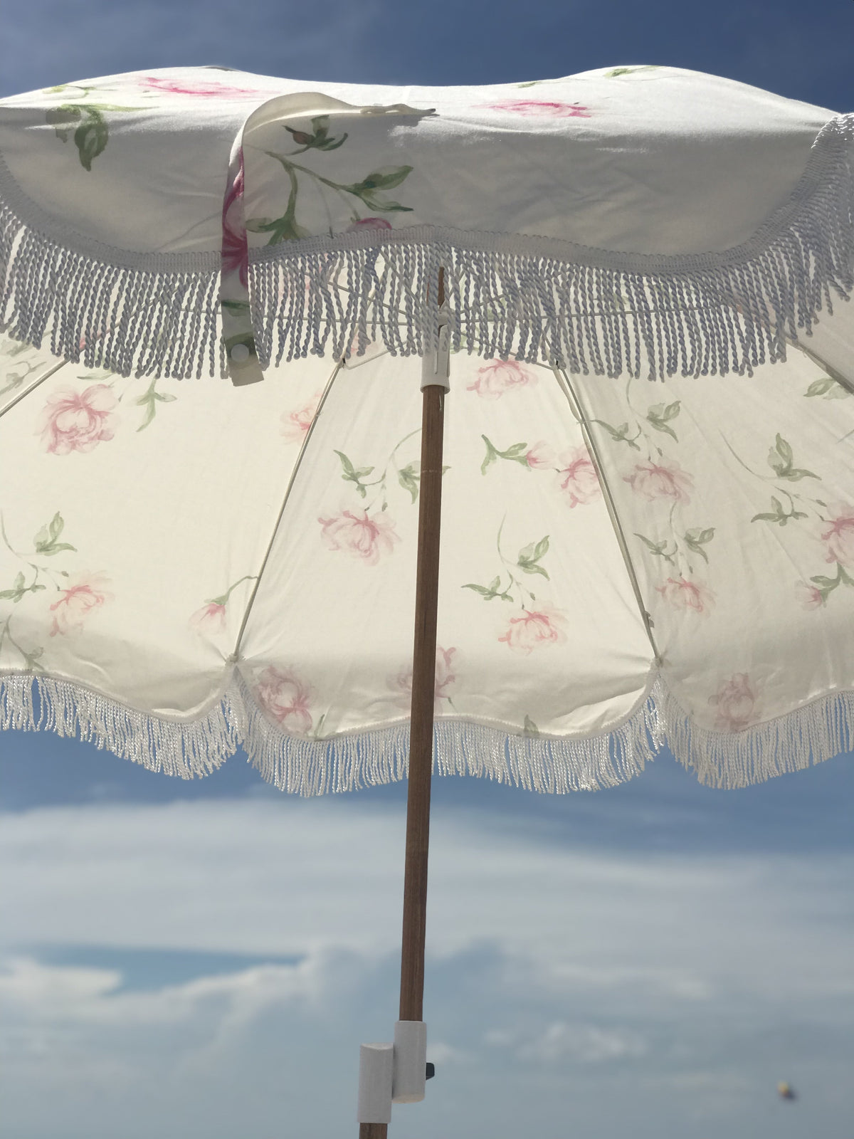 The Holiday Beach Umbrella - SCF English Rose - Business & Pleasure Co