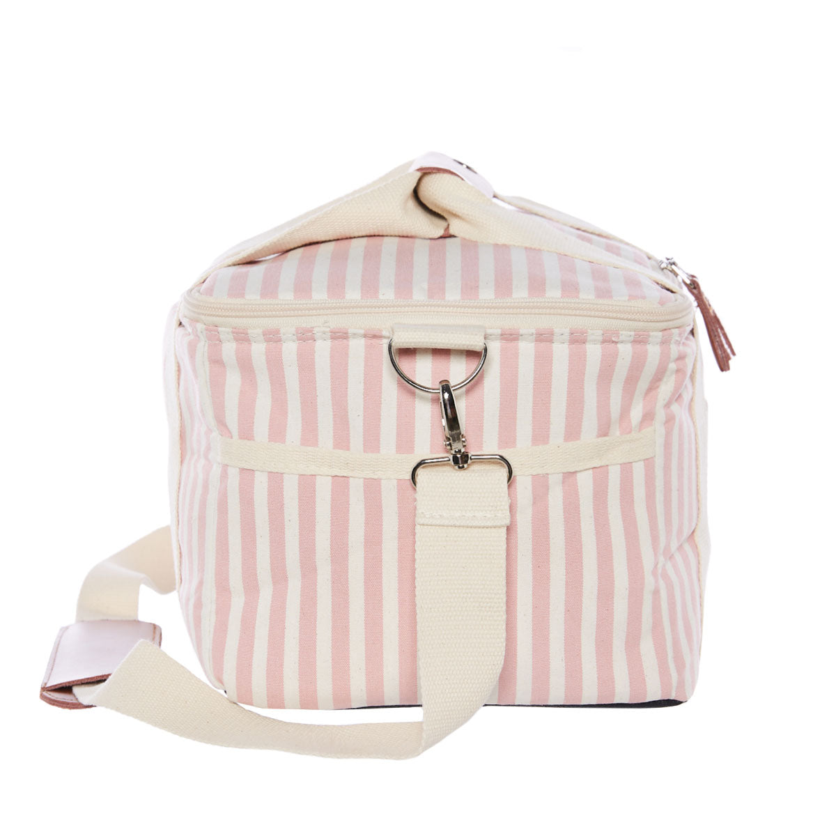 The Premium Cooler Bag - Lauren's Pink Stripe