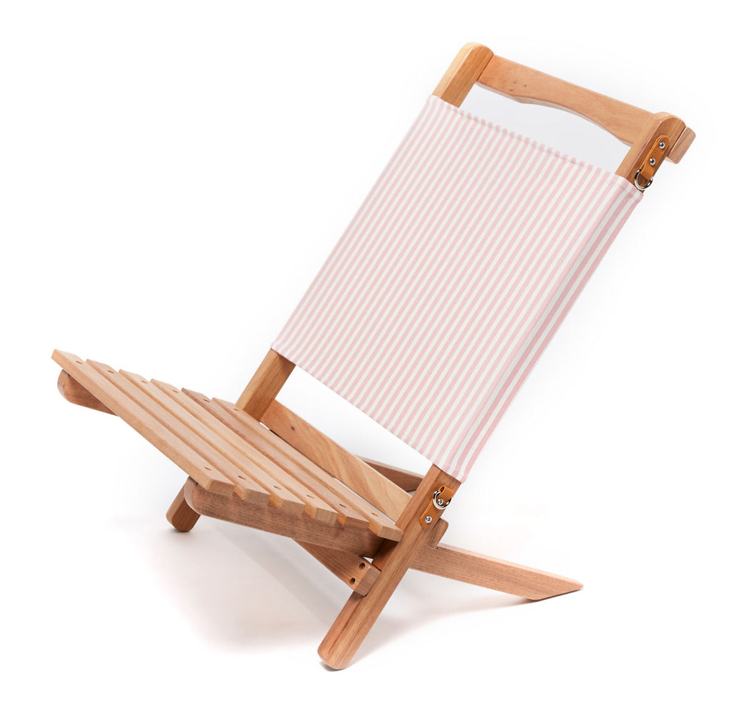 The 2-Piece Chair - Lauren's Stripe Pink