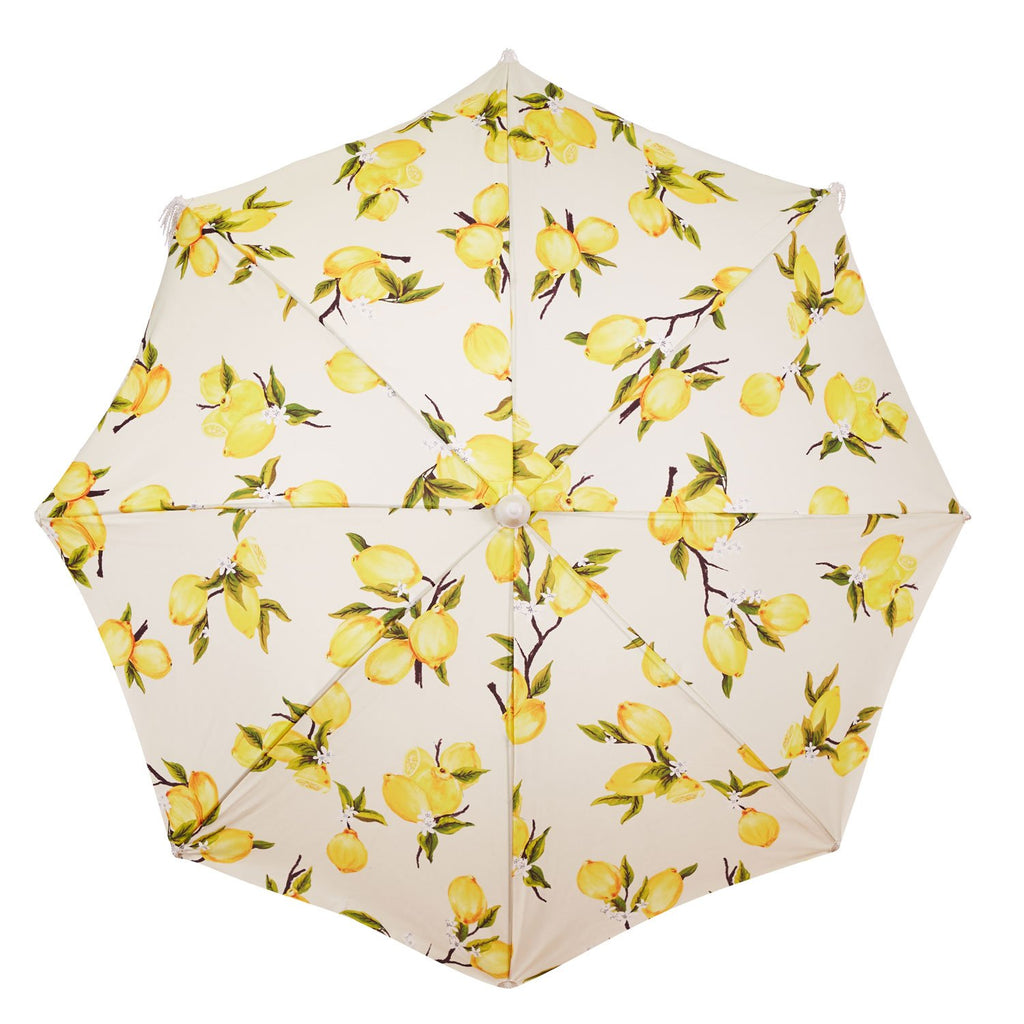 The Holiday Beach Umbrella - Vintage Lemons - Business & Pleasure Co
