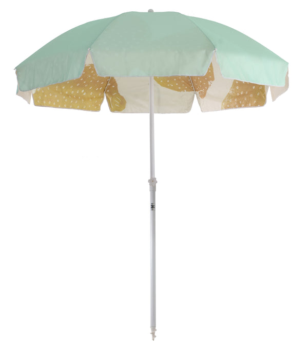Family Beach Umbrella - Sage Lemon's