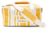 The Cooler Bag - Yellow Stripe