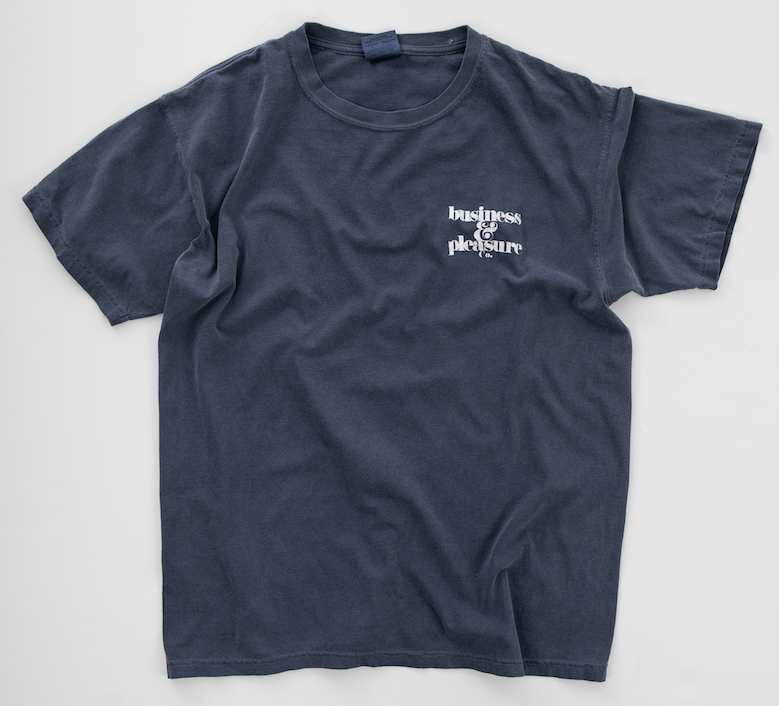 The B&PCO. Tee - Lauren's Navy