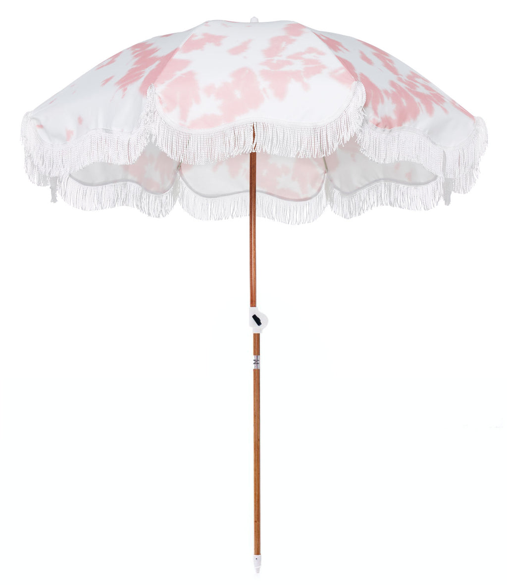 The Holiday Beach Umbrella - Tie Dye