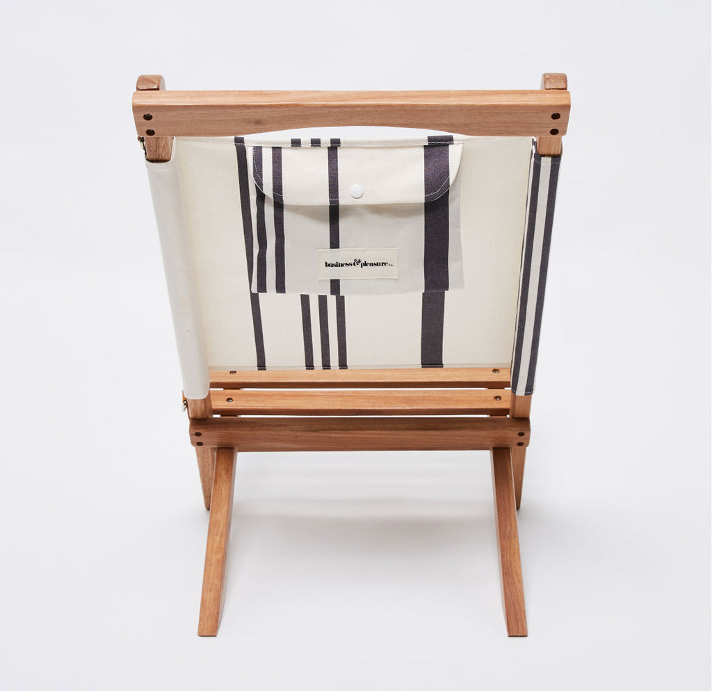 The 2-Piece Chair - Vintage Black Stripe