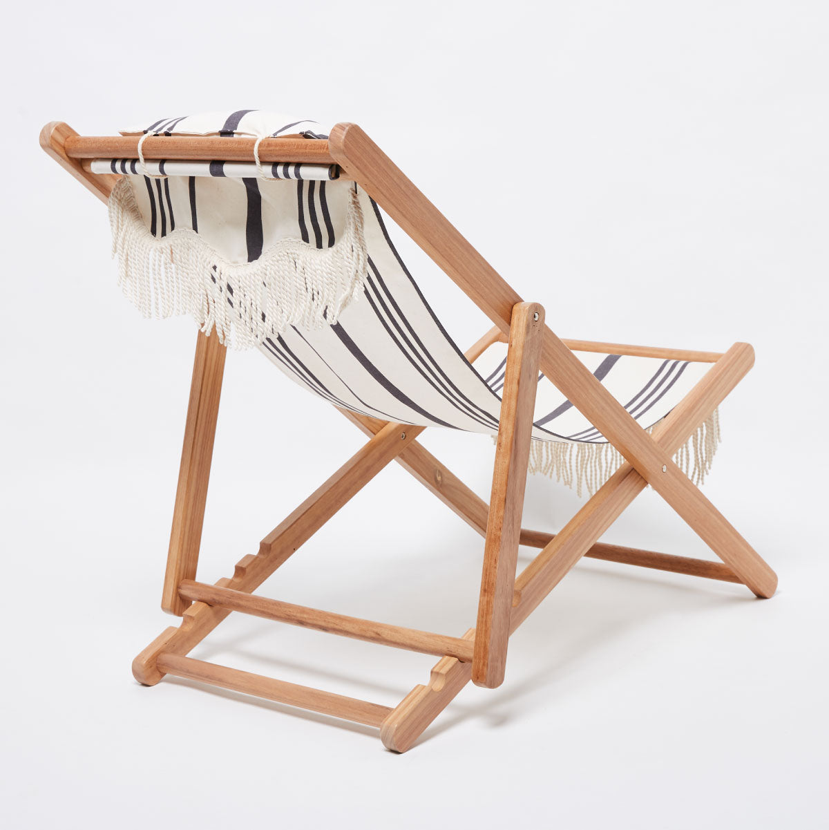The Sling Chair - Vintage Black Stripe