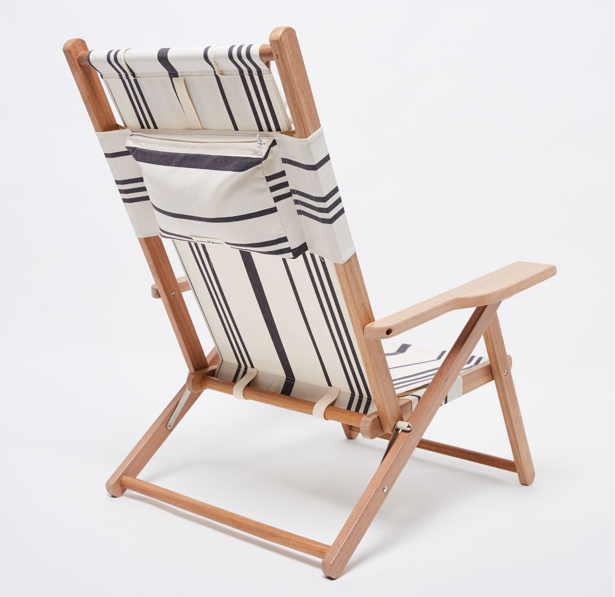 The Tommy Chair - Vintage Black Stripe
